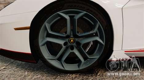 Lamborghini Aventador LP700-4 2012 [EPM] Lamotte para GTA 4 vista hacia atrás