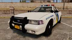 GTA V Vapid State Police Cruiser [ELS] para GTA 4