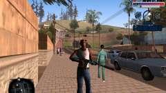 C-HUD Police Gang para GTA San Andreas