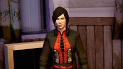 Lady Shiva en el juego Batman Arkham orígenes para GTA San Andreas