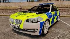 BMW 550i Metropolitan Police [ELS]