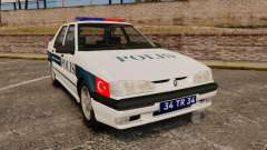 Renault 19 Turkish Police