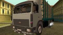 Portador de madera 6430 MAZ para GTA San Andreas