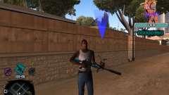 C-HUD Quintero para GTA San Andreas