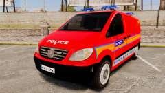 Mercedes-Benz Vito Metropolitan Police [ELS] para GTA 4