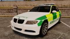BMW 330i Ambulance [ELS]