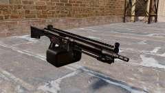 Propósito general metralleta Heckler y Koch HK21 para GTA 4
