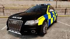 Audi S4 Police [ELS] para GTA 4
