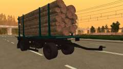 Trailer de MAZ 6430 para GTA San Andreas