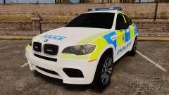 BMW X6 Lancashire Police [ELS] para GTA 4