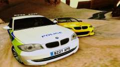 BMW 120i SE Police para GTA San Andreas