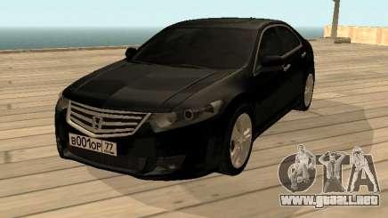Honda Accord 2010 V2.0 para GTA San Andreas
