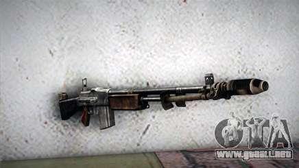Browning M1918 para GTA San Andreas