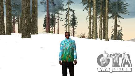 Chaqueta de Sochi 2014 para GTA San Andreas