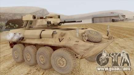LAV-25 Desert Camo para GTA San Andreas