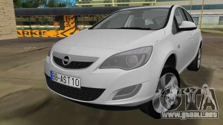 Opel Astra 2011 para GTA Vice City