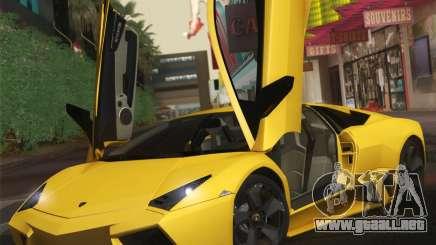 Lamborghini Reventon 2008 SLOD para GTA San Andreas