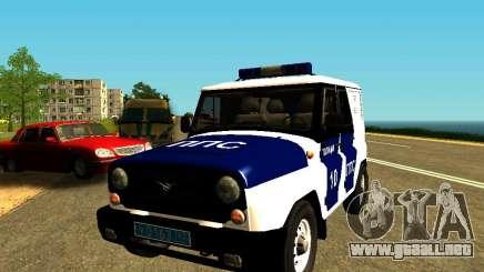 UAZ Hunter PPP para GTA San Andreas