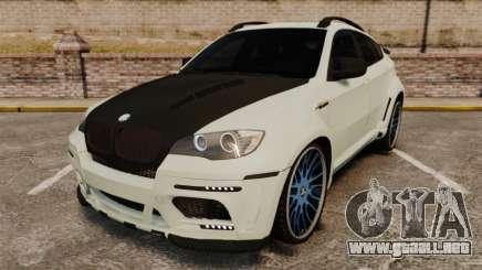 BMW X6 M HAMANN 2012 para GTA 4
