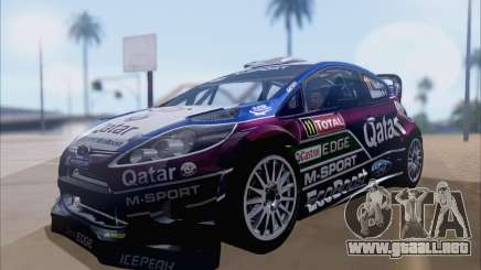 Ford Fiesta RS WRC 2013 para GTA San Andreas