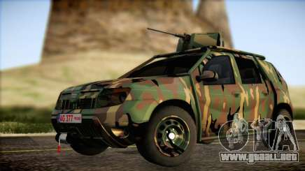 Dacia Duster Army Skin 2 para GTA San Andreas