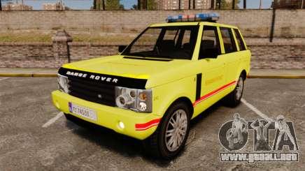Range Rover Vogue Brannvesenet para GTA 4