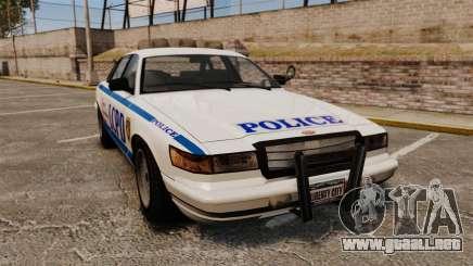 Vapid Police Cruiser v2.0 para GTA 4