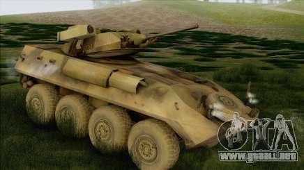 Camuflaje bosque LAV-25 para GTA San Andreas