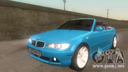 BMW 325Ci 2003 para GTA San Andreas