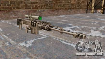 Rifle de francotirador AS50 para GTA 4