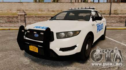 GTA V Vapid Police Interceptor LCPD [ELS] para GTA 4