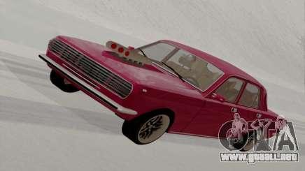 GAZ Volga 2410 caliente Road para GTA San Andreas