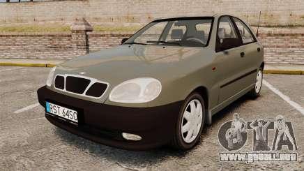 Daewoo Lanos S PL 2001 para GTA 4