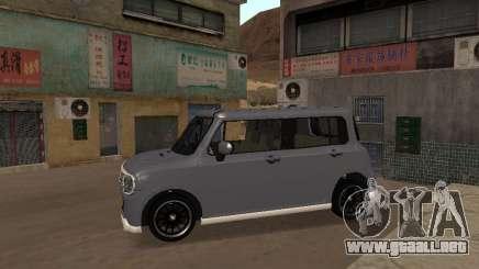 Suzuki Alto Lapin para GTA San Andreas