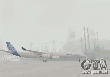 El Airbus A340-600 para la visión correcta GTA San Andreas