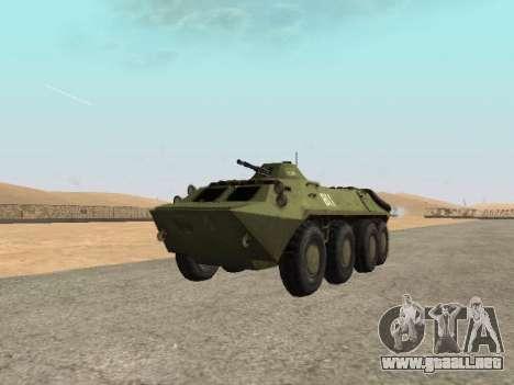 BTR-70 para la visión correcta GTA San Andreas