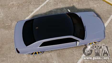 Chrysler 300C SRT8 para GTA 4 visión correcta