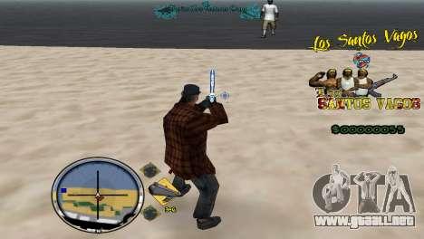 Hud By Fawkes para GTA San Andreas tercera pantalla
