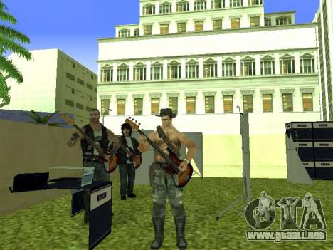 La Película del concierto para GTA San Andreas novena de pantalla