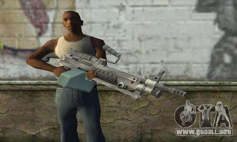 M16 из Postal 3 para GTA San Andreas tercera pantalla