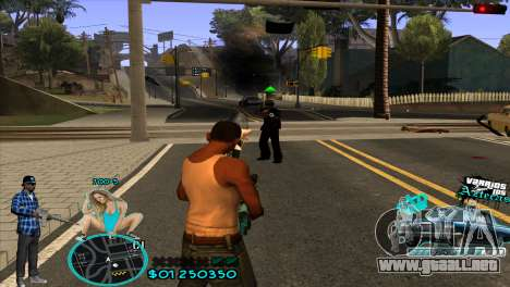 C-HUD Aztecaz by HARDy para GTA San Andreas tercera pantalla