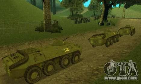 BTR-70 para GTA San Andreas left