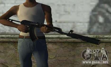 Silenced M70AB2 para GTA San Andreas tercera pantalla