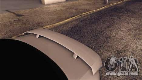 Volkswagen Bora GLI para GTA San Andreas vista hacia atrás