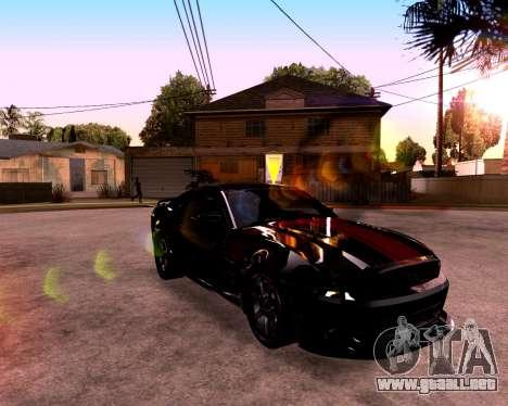 ENB para PC débil para GTA San Andreas sexta pantalla