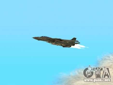 F-14 Tomcat HQ para visión interna GTA San Andreas