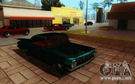 ENB HD CUDA 2014 v2.0 para GTA San Andreas sexta pantalla
