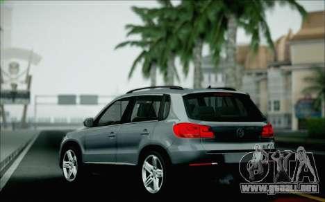 Volkswagen Tiguan 2012 para vista inferior GTA San Andreas