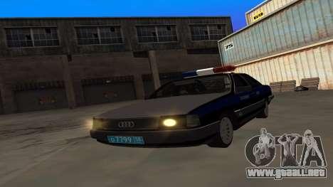 Audi 100, la Policía ОБЭП para GTA San Andreas