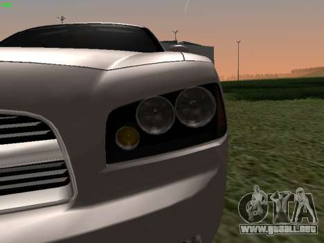 Dodge Charger RT 2008 para la visión correcta GTA San Andreas